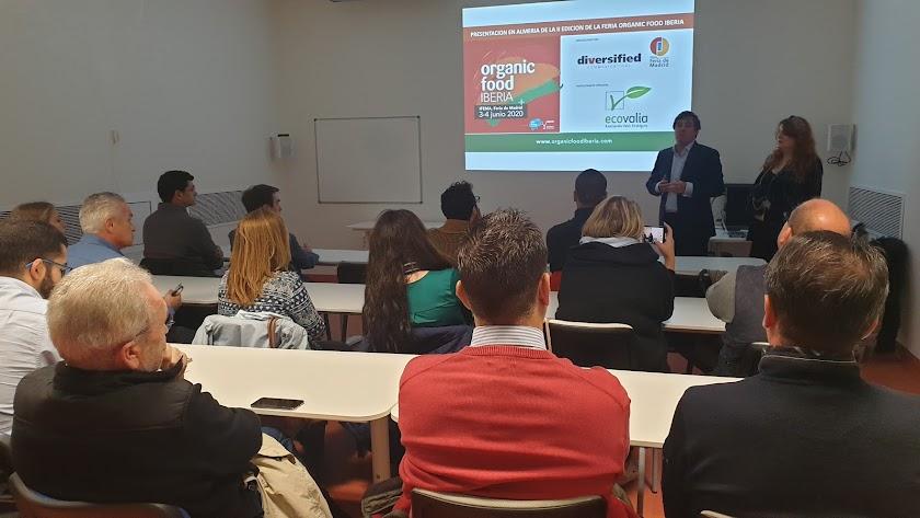 Presentación Organic Food Iberia en Almería.