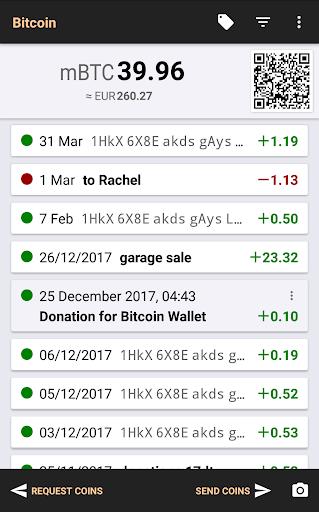 Bitcoin Wallet Screenshot