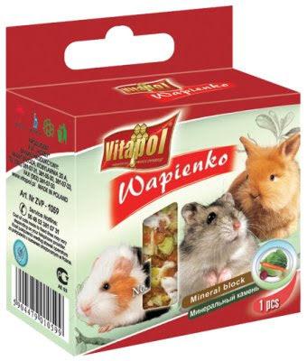 VitaPol Mineralsten Gnagare Naturell 40g
