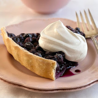 Easy Fresh Blueberry Pie.