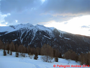 Photo: IMG_6944 le cime sopra Cogolo dal pianoro 2142