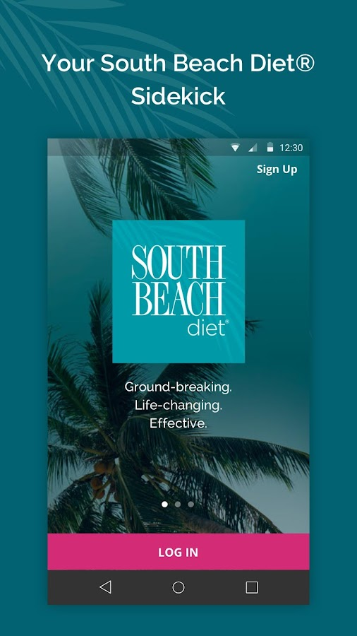 South Beach Diet Tracker- screenshot