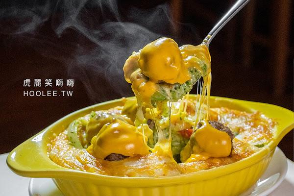 波波耐吃(高雄)新崛江聚餐好去處!人氣激推韓式炸雞,還有牛肉丸爆滿起司焗烤飯