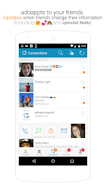 addappt: up-to-date contacts Screenshot 3