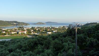 Photo: The view from taverna Agnadio