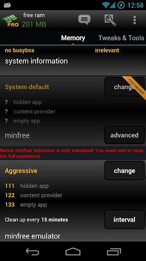 AutoKiller Memory Optimizer screenshots 2