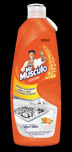 Limpiador Mr Musculo Cocina Citrus 500Ml