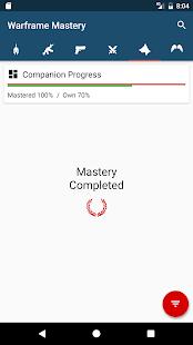 Warframe Mastery - náhled