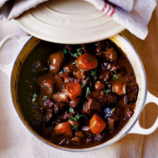 Venison or Beef Stew in Slow Cooker.