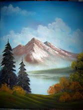 Photo: 1601 Summer. Oil on canvas.