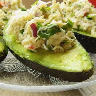 Spicy Cilantro and Lime Crab Salad