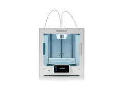 Ultimaker S3 Dual Extrusion 3D Printer Fully Assembled with Enhanced Service Plan (2 Years of Warranty Protection)