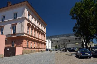 Photo: Pałac przechodzi właśnie renowację.