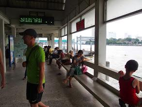 Photo: Fleuve Chao Phraya - Bangkok