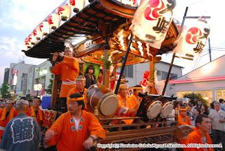 Photo: 【平成19年(2007) 宵宮】 丸崎の山車。