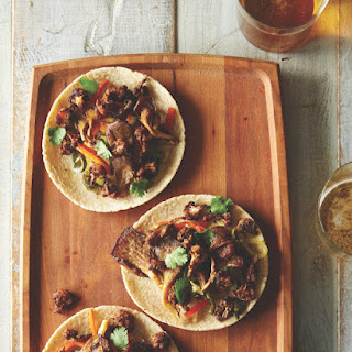Cauliflower and Oyster Mushroom Tacos from Food52 Vegan (gluten free).