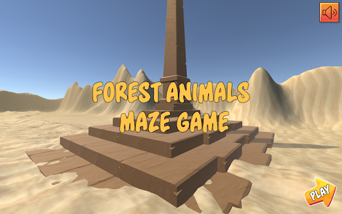 Forest Animals Maze (Labyrinth) Game - náhled