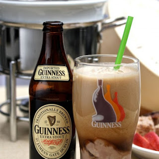Chocolate Guinness Floats.