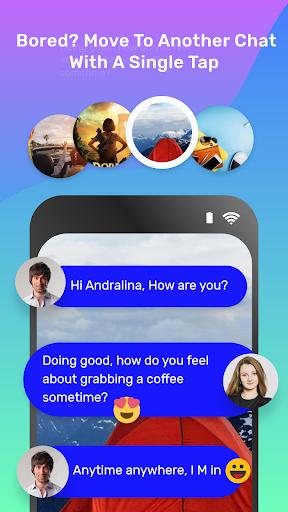 Free Random Chat & Meet new People - Stranger Chat screenshot 5