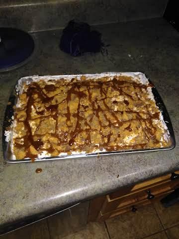 My famous in heaven butterfinger cake