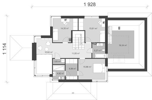 UA24 - Rzut piętra