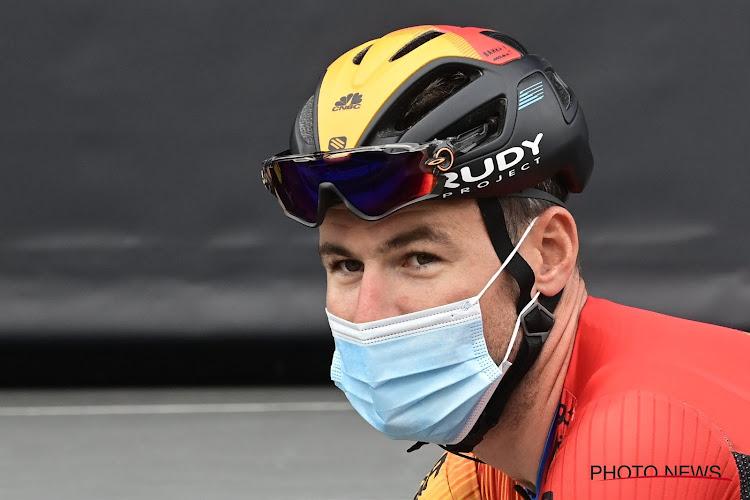 """Mark Cavendish roemt ploegmaat: """"Een eer om te zien hoe hij vecht"""""""