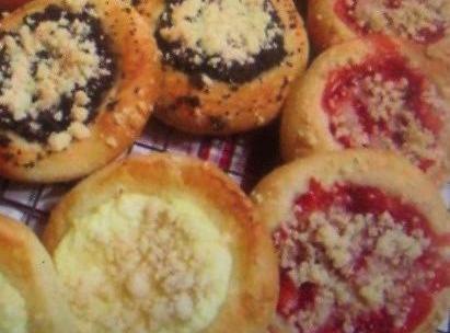 Polish Kolaches  W/bread Machine Recipe