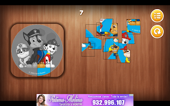 Paw Puppy Patrol Puzzle - screenshot thumbnail 09