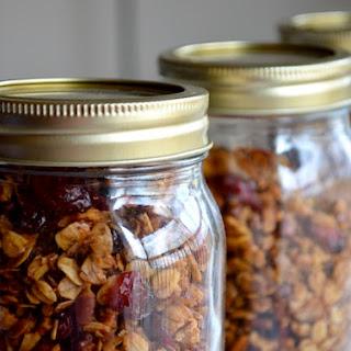 Coconut Cranberry Pecan Granola Recipes