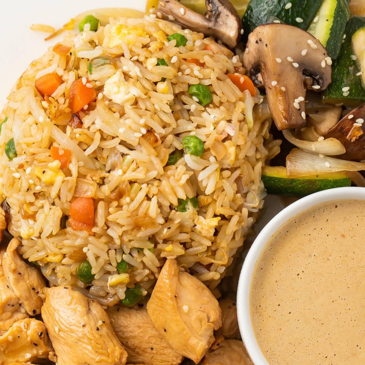 Hibachi Chicken  gone Fried Rice