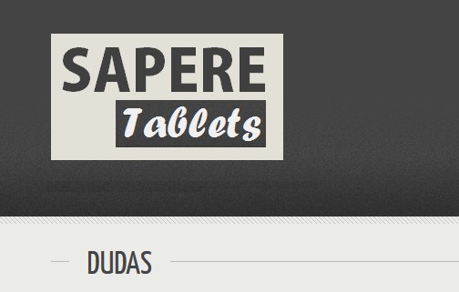 SAPERE Tablets- screenshot