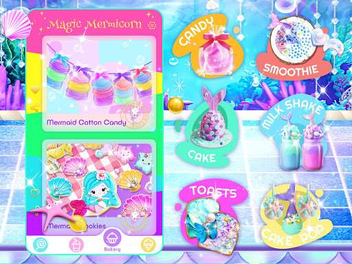 Unicorn Chef: Mermaid Cooking Games for Girls 2.1 screenshots 12