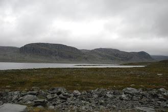 Kuva: Urtaspahdatkin tulivat välillä näkyviin, välillä ne olivat taas lähes kokonaan pilvien peitossa