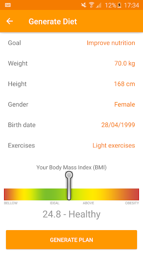 Technutri - calorie counter, diet and carb tracker 3.25.0 screenshots 2