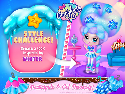 Candylocks Hair Salon - Style Cotton Candy Hair  Wallpaper 16