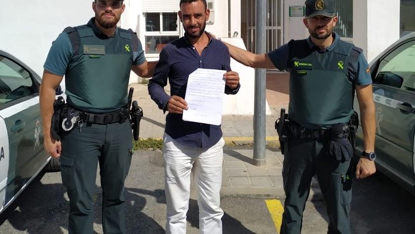 Imagen difundida por la Guardia Civil.