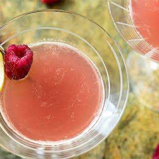 Blushing Meyer Lemon Drop Martini.