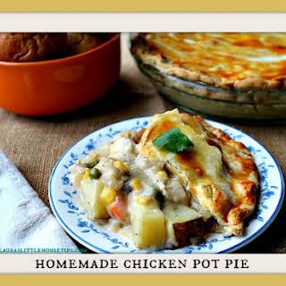 Homemade Chicken Pot Pie.