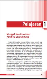 Buku Bahasa Indonesia Kelas 12 Kurikulum 2013 - náhled