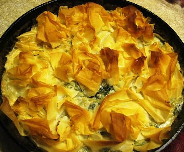 Chicken Spanakopita Skillet Recipe
