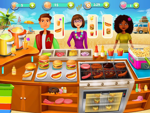 Cooking Island - A Chef's Cooking Game for Girls android2mod screenshots 1