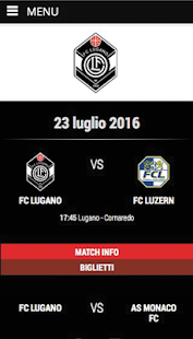 FC Lugano 1908- miniatura screenshot