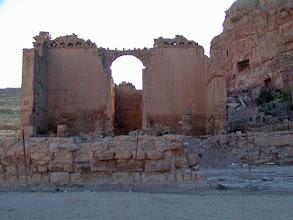 Photo: Qasr El-Bint El-Faroun or the Palace Of The Pharaho's Daughter. It was Petra's main temple in the 1st century B.C.
