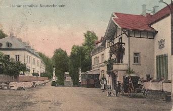 Photo: Wünschendorf im Erzgebirge  Hammermühle Neunzehnhain  -  Postkarte  um 1920