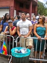 Photo: The Heritage of Pride gay pride march, Christopher and Greenwich streets, Greenwich Village, 26 June 2011. (Photograph by Elyaqim Mosheh Adam.)
