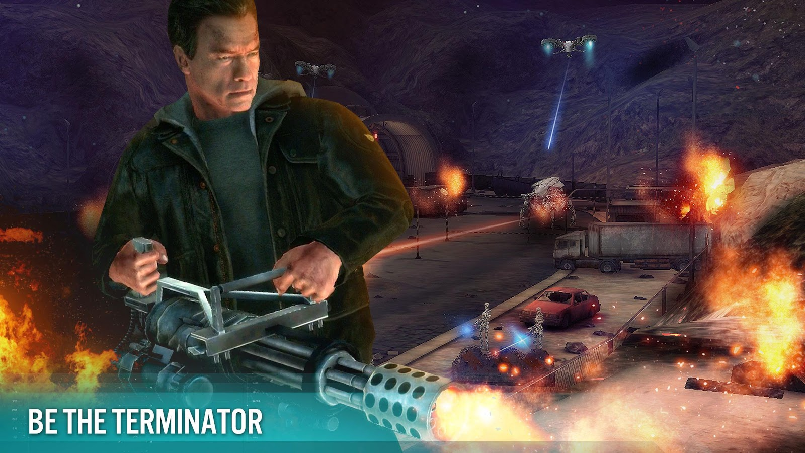 Screenshots of TERMINATOR GENISYS: GUARDIAN for iPhone