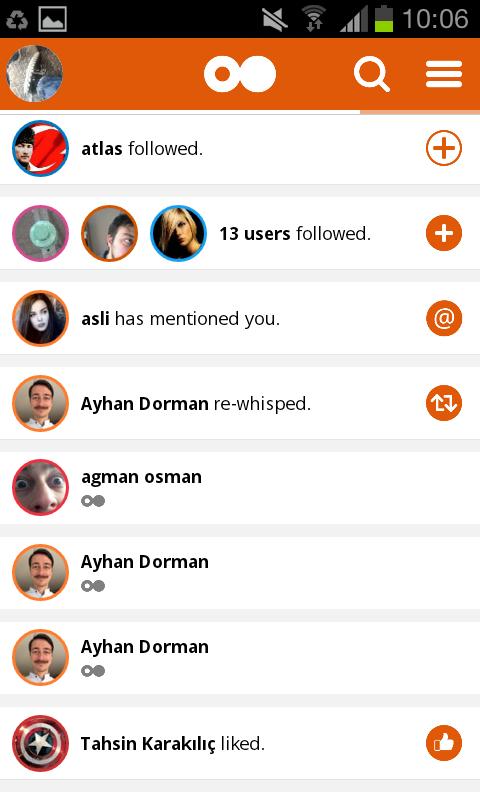 Whispto - screenshot