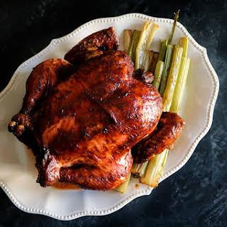Five Spice Glazed Chicken.