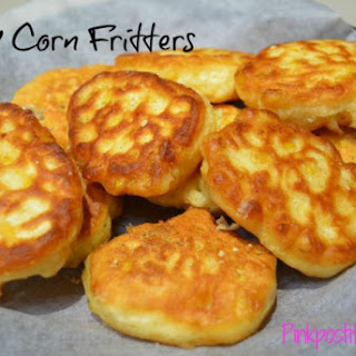 Easy Corn Fritters.