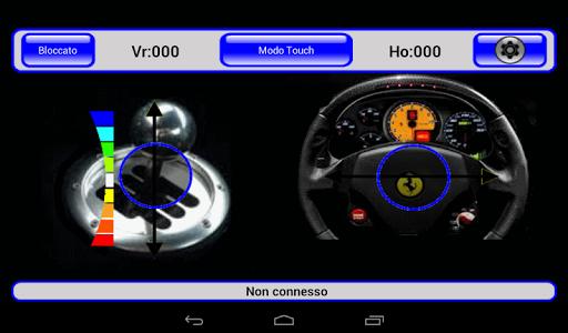 IRacer & Arduino BT controller screenshot 10